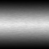 Brushed steel background. With highlight Stock Images