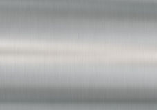Brushed Steel - horizontal Royalty Free Stock Photography