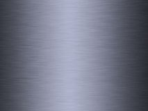 Brushed steel or metal. A sheet of brushed steel or metal background Stock Photography