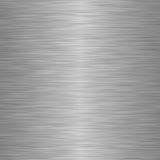 Brushed steel or metal as background Stock Image
