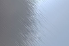 Brushed steel metal texture Stock Photography