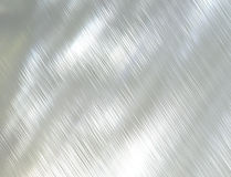 Brushed steel metal texture Royalty Free Stock Images