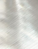 Brushed steel metal texture Stock Image