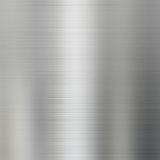 Brushed steel metal texture background Stock Photo