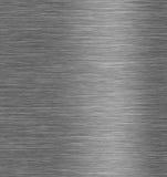 Brushed steel metal texture Stock Photos