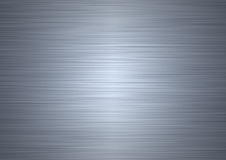 Brushed steel plate Royalty Free Stock Photos