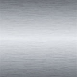 Brushed steel plate Stock Images