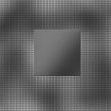 brushed titanium plate and carbon fiber Stock Image