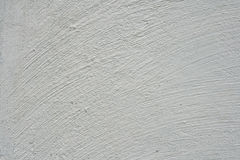 Brushed white wall texture Royalty Free Stock Image