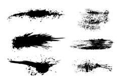 brushegrunge Arkivfoton