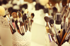 Brusher for make up Royalty Free Stock Image