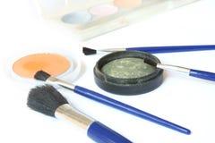 brushes ögonskuggor Arkivbild
