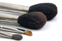 Brushes. For Make Up Stock Image