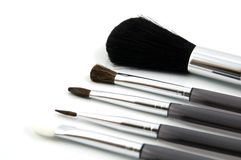 Brushes. Makeup Brushes Royalty Free Stock Photos