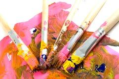 Brushes Stock Image