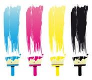 Brushes royalty free illustration