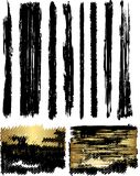 Brushes and Banners Royalty Free Stock Photos
