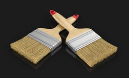 Brushes (clipping path included) Royalty Free Stock Photography