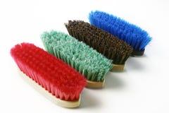 brushes färgrikt Royaltyfri Fotografi