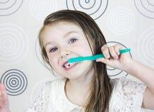 brushes flickatänder Royaltyfri Fotografi
