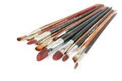 Brushes isolated Royalty Free Stock Photo