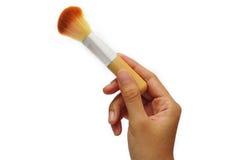 brushes kosmetiska handkvinnor Arkivbild