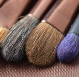 Brushes macro detail Royalty Free Stock Images