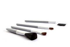 Brushes for make-up Stock Photography