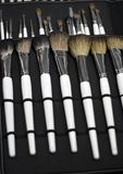 Brushes make-up collection Royalty Free Stock Photography