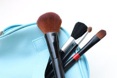 Brushes. Make up for lady Royalty Free Stock Images