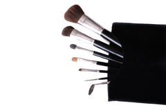 brushes makeup Royaltyfri Fotografi