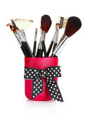 Brushes for makeup Stock Photography