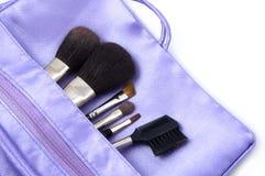 brushes makeup Royaltyfri Fotografi