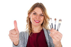 These brushes are more than effective Stock Photography