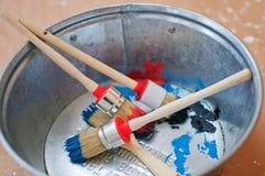 Brushes for repair Royalty Free Stock Image