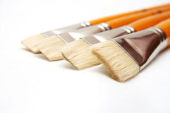 Brushes set Royalty Free Stock Photography