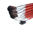 Brushes set Royalty Free Stock Images