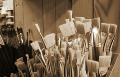 Brushes set Royalty Free Stock Images
