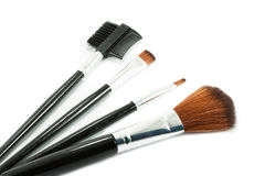 brushes smink Arkivfoton