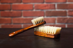 Brushes on the table Royalty Free Stock Photography