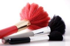 Brushes to make-up royalty free stock image