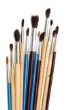 Brushes of various sizes Royalty Free Stock Photo
