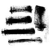 brushes vektorn Arkivbilder