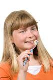 Brushing braces Stock Image