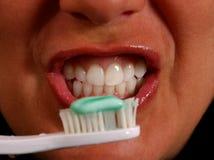 Brushing Teeth 2 Stock Photo