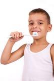 Brushing teeth Stock Photography