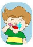 Brushing teeth Royalty Free Stock Images