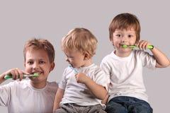 Free Brushing Teeth Royalty Free Stock Photography - 35475927