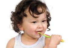 Brushing teeth. Stock Photography