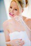Brushing Teeth Stock Image